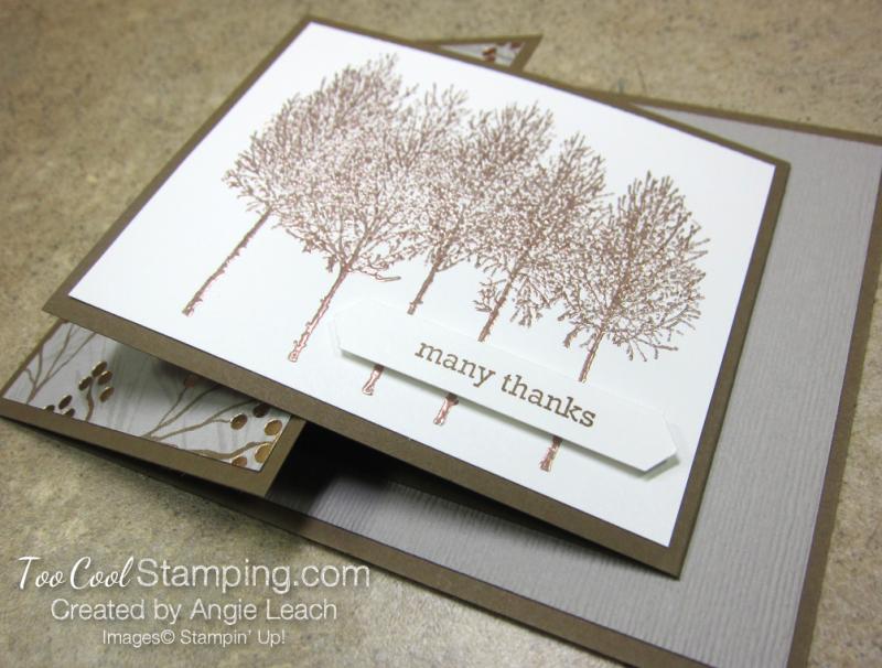 Winter Woods Joy Fold - joyous copper 2