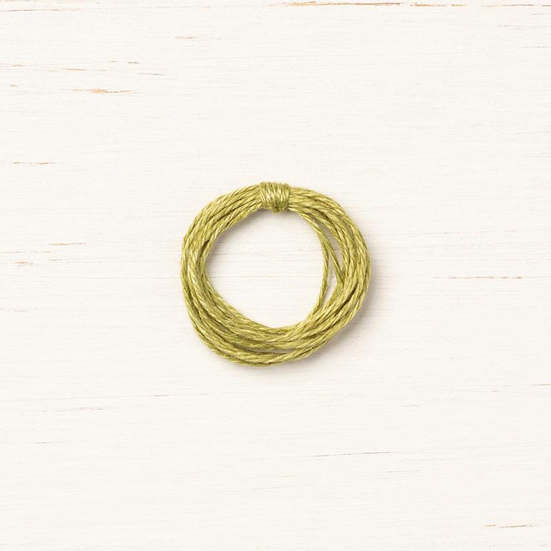 Olive linen thread 148811G
