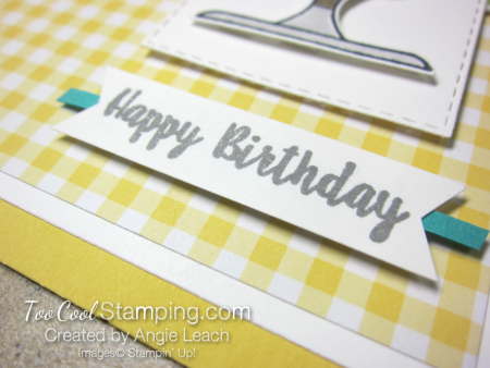 Piece of Cake - gingham birthday 4