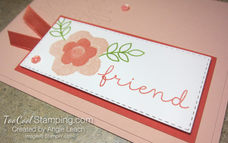 Needle & Thread friend - coral 5