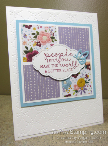 Needlepoint nook squares - heather