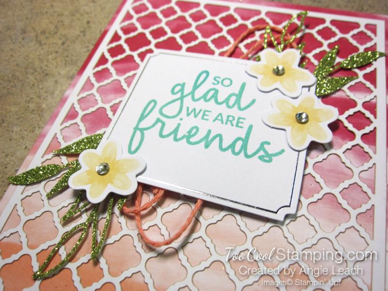 Glad were friends - 2