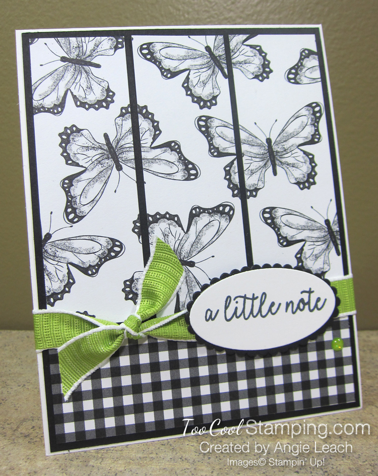 Botanical Butterfly Panels - black & white