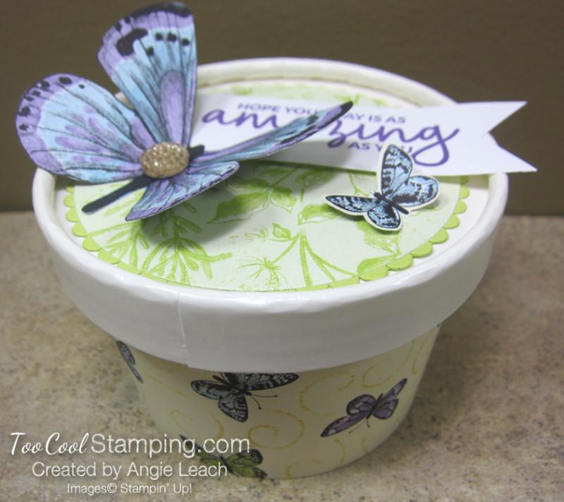 Butterfly sweet cups - lid 12.5