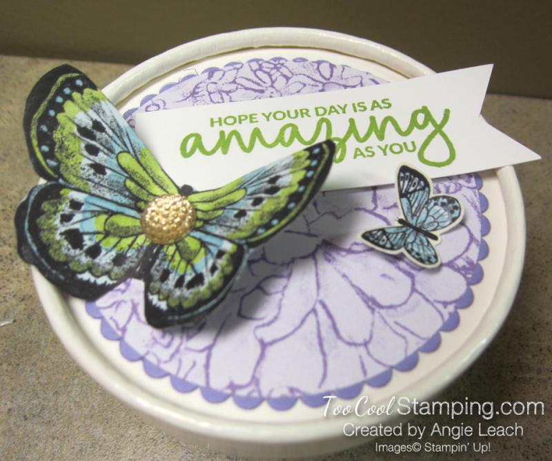 Butterfly sweet cups - lid 5