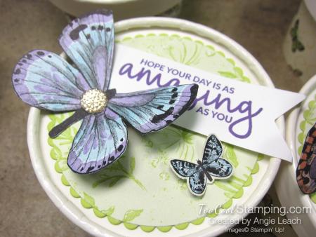 Butterfly sweet cups - lid 2