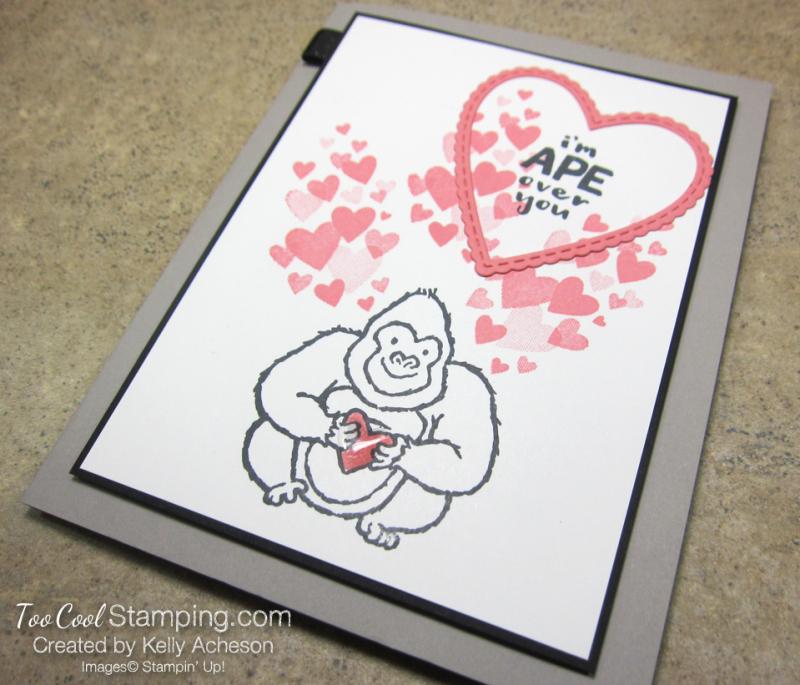 Hey love ape over you 2 - kelly acheson