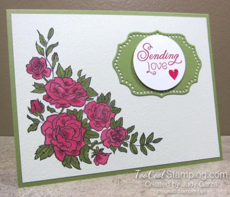 Climbing Roses 1 - Judy Garza