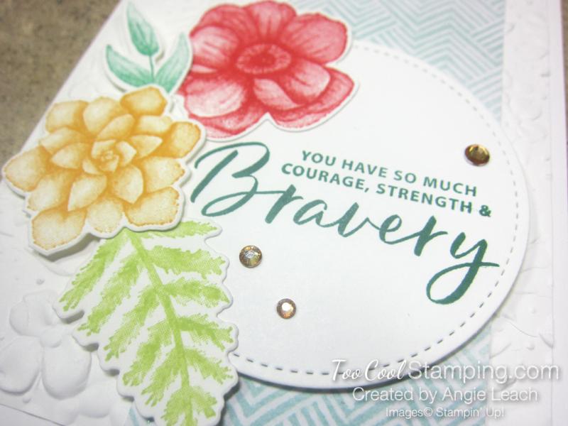 Painted Seasons Bravery - circle 3