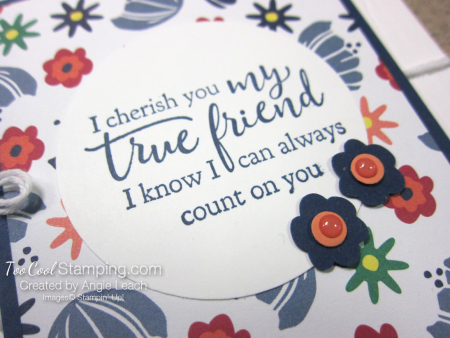 Sweet happiness blooms cards - true friend 3