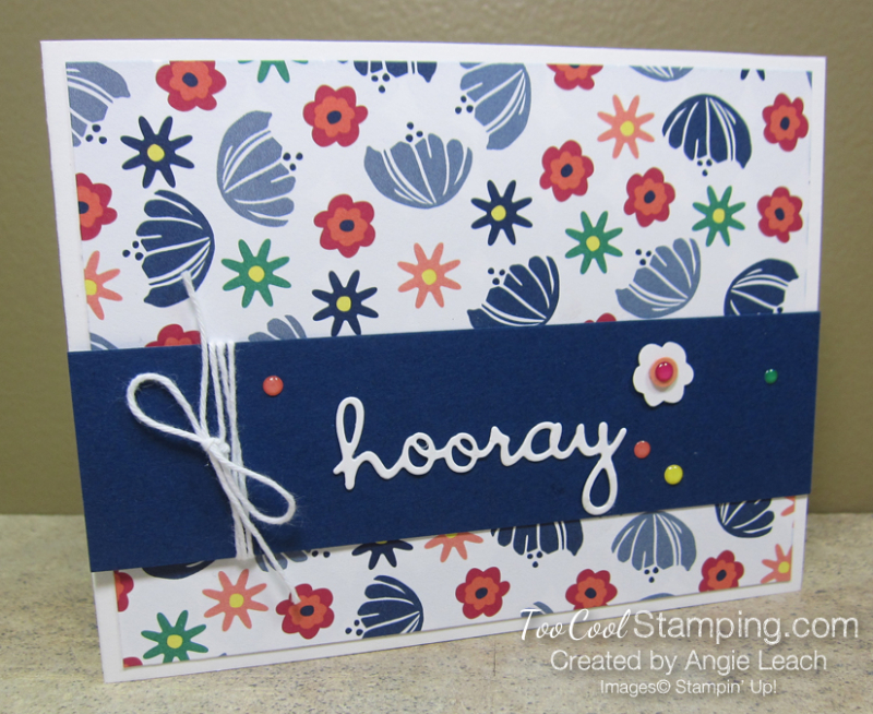 Sweet happiness blooms cards - hooray