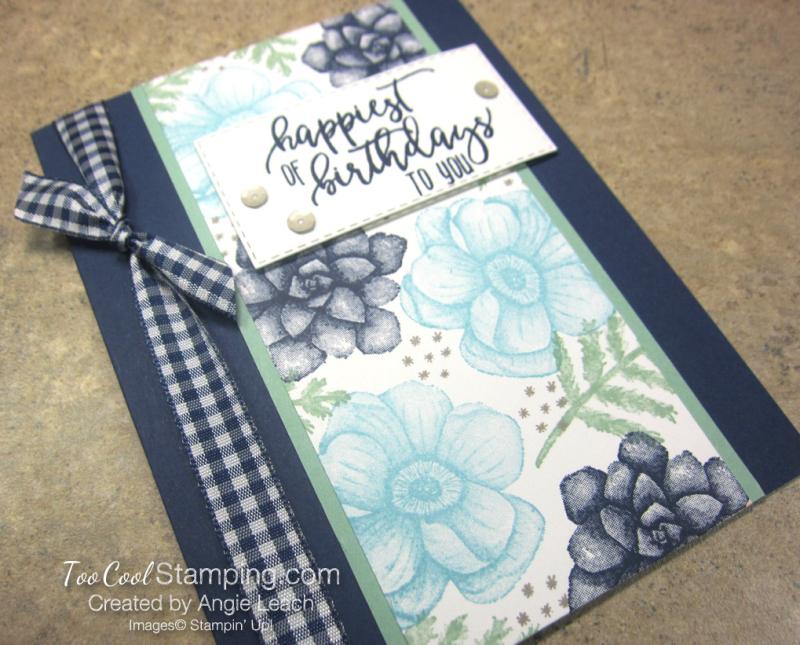 Painted seasons happiest birthdays - navy 2
