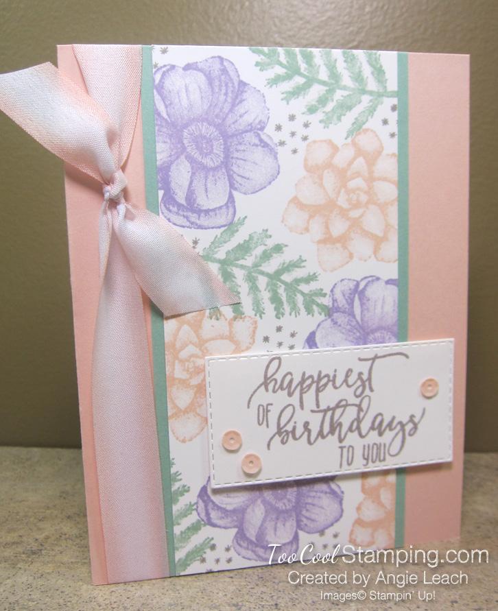 Painted seasons happiest birthdays - petal