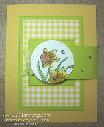 You're Inspiring Side Flap Card - amy 1
