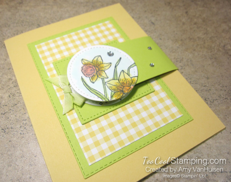 You're Inspiring Side Flap Card - amy 2