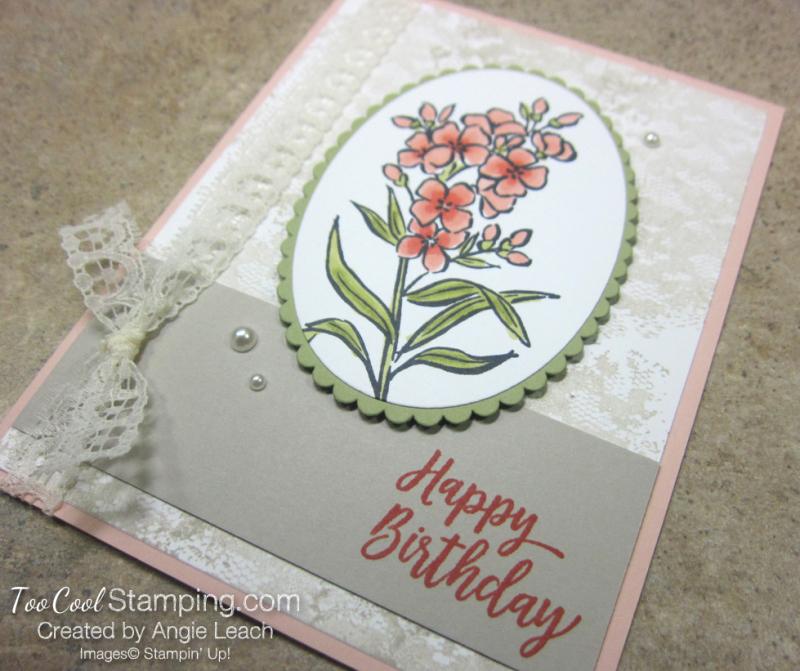 Southern serenade vintage birthday - petal pink 2.5