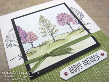Lovely As A Tree Watercolor Spotlight - spring 2