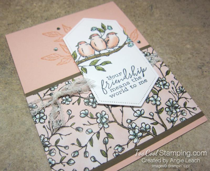 Bird ballad friendship sneak peek cards - petal pink 2