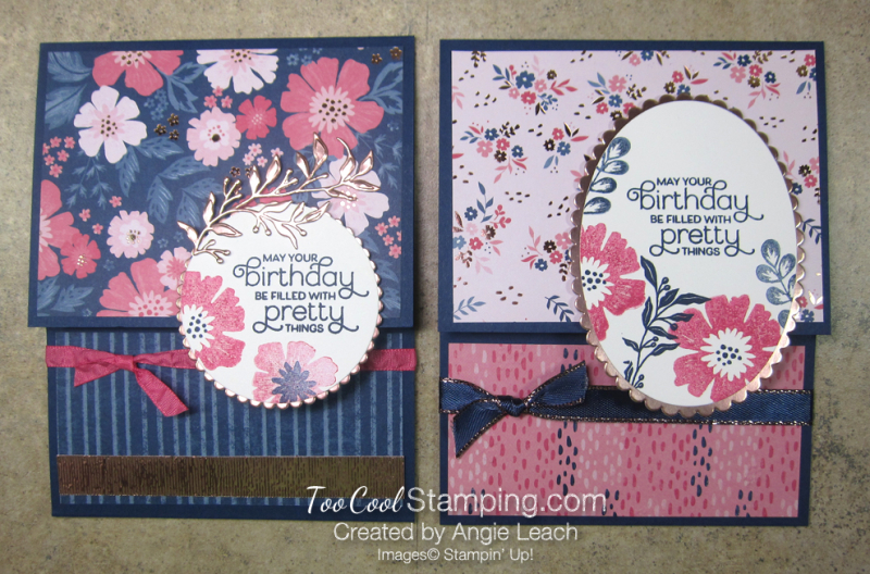 Everything Is Rosy Pull-Up Gift Card Holder - two cool