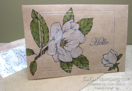 Magnolia Notes & Shimmer Paint - white 1