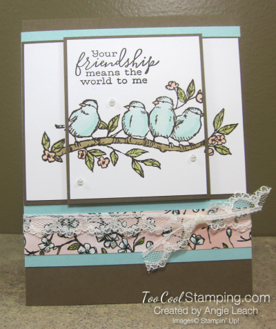 Two Layer Stamping - free as a bird 1