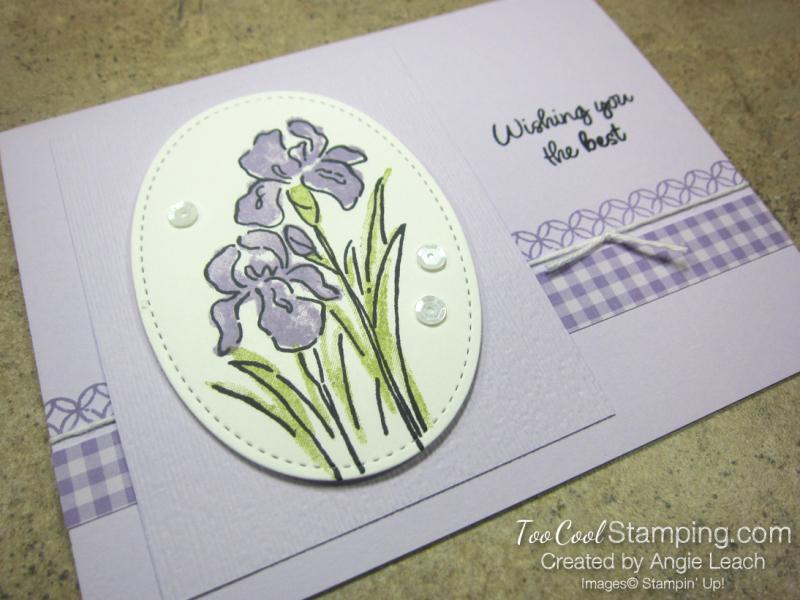 Inspiring Iris - posy 2