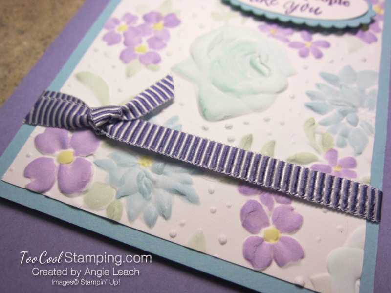Colored country floral - heather 3