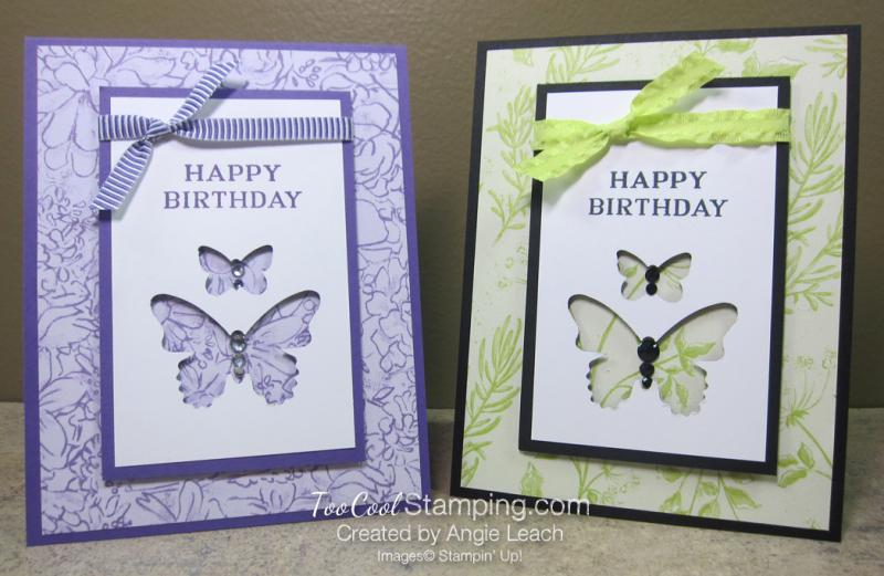Perennial birthday butterflies - two cool