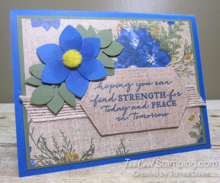 Pressed petals strength for today - tamra 1