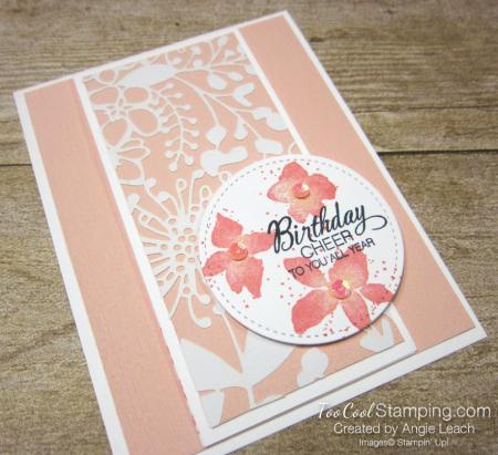 Parcels & petals shimmer flap cards - petal 2