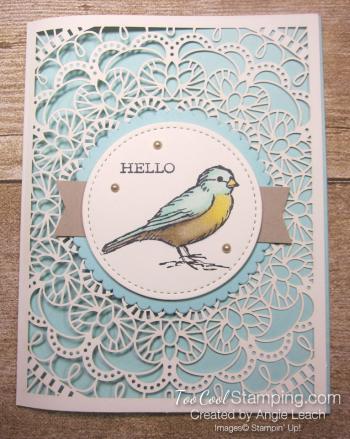 Bird ballad laser-cut - hello bird