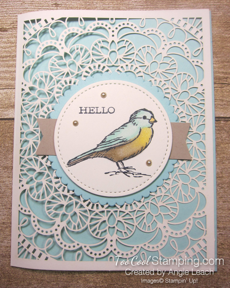 Bird ballad laser-cut - hello bird