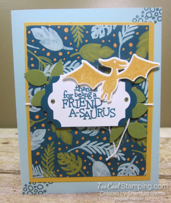 Dino days friendasaurus - uchiyama