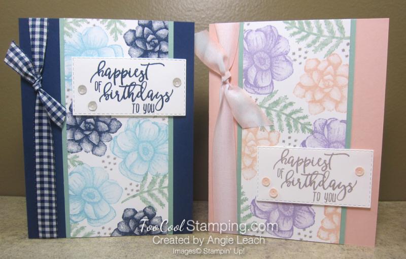 Painted seasons happiest birthdays - two cool