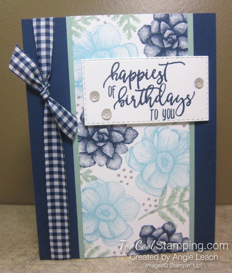 Painted seasons happiest birthdays - navy