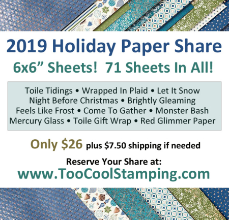 2019 Holiday Paper Share Banner