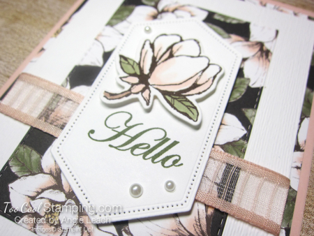 Magnolia lane rectangle layers cards - petal 3
