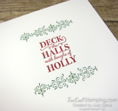 Christmas Gleaming falling ornaments - judy garza 2