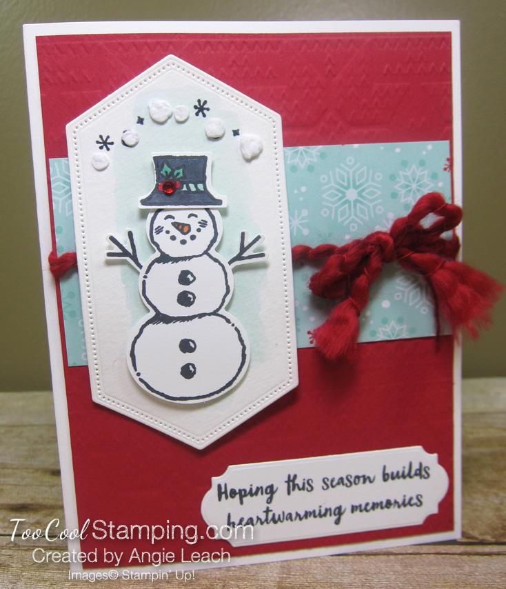 Snowman season heartwarming - amy storrie