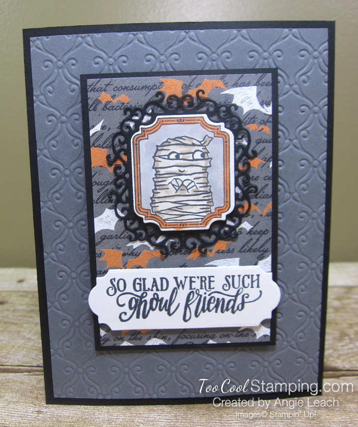 Monster bash ghoul friends card 1