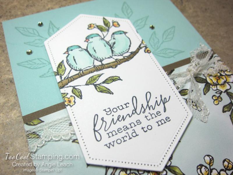 Bird ballad friendship sneak peek cards - pool party 3
