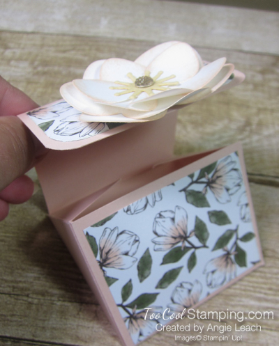 Magnolia lane triangle box - flower 2