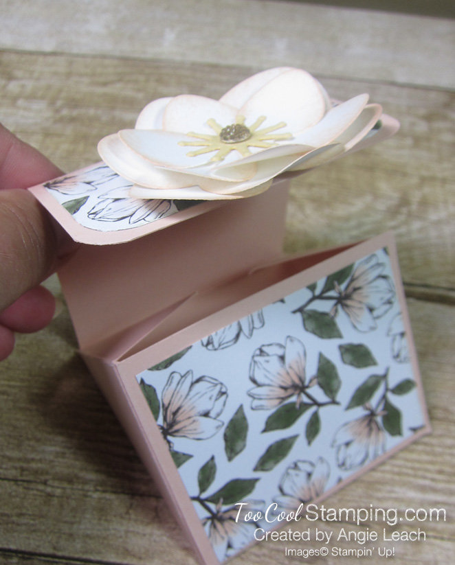Magnolia lane triangle box - flower 2