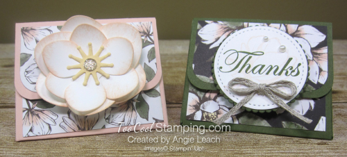 Magnolia lane triangle box