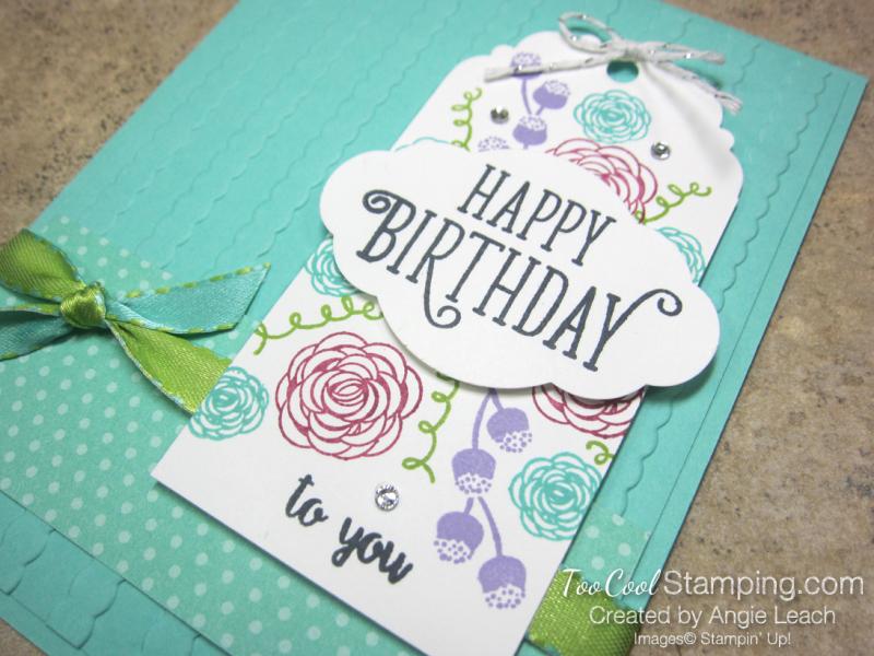 Happy birthday gorgeous tag - coastal 3