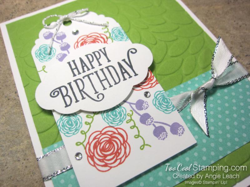 Happy birthday gorgeous tag - granny apple 2