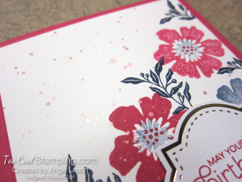 Everything is rosy corner bouquet card 3