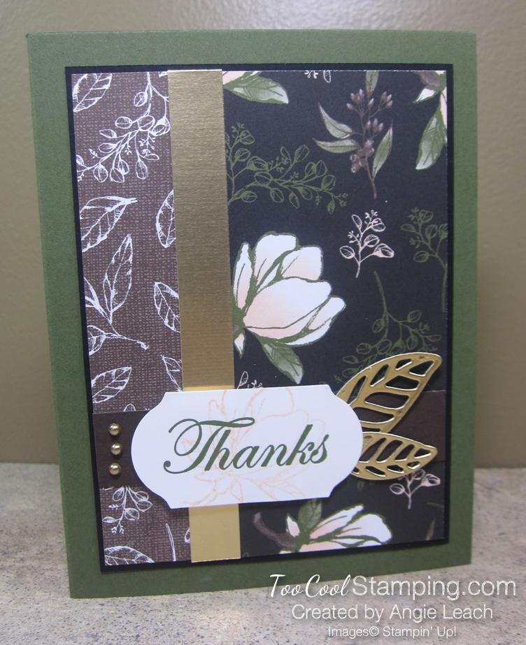 Magnolia Lane Two Leaves - thanks