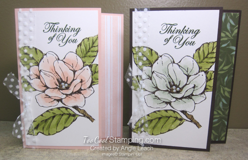 Magnolia Shimmer Blends - two cool