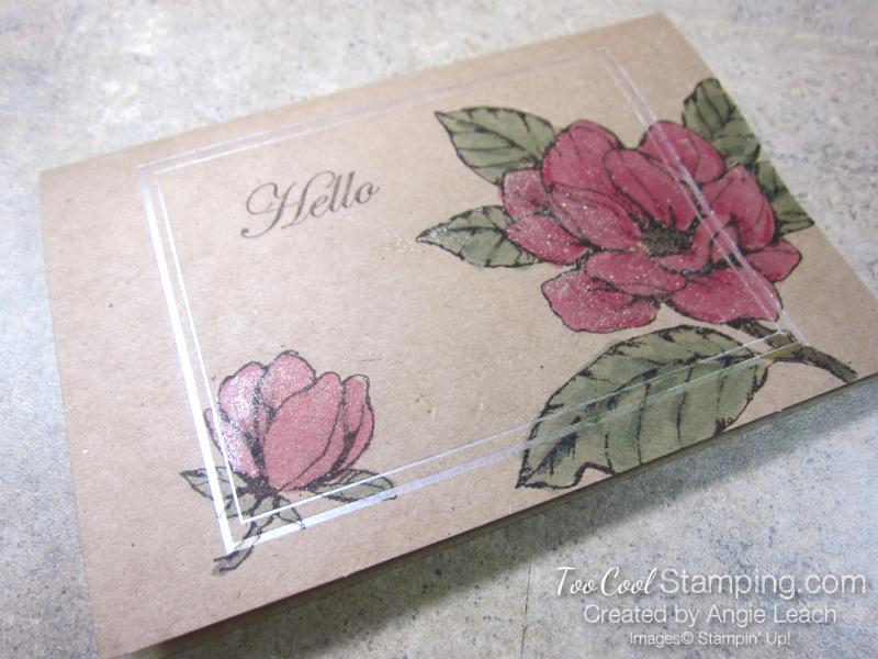 Magnolia Notes & Shimmer Paint - Lovely Shimmer 2